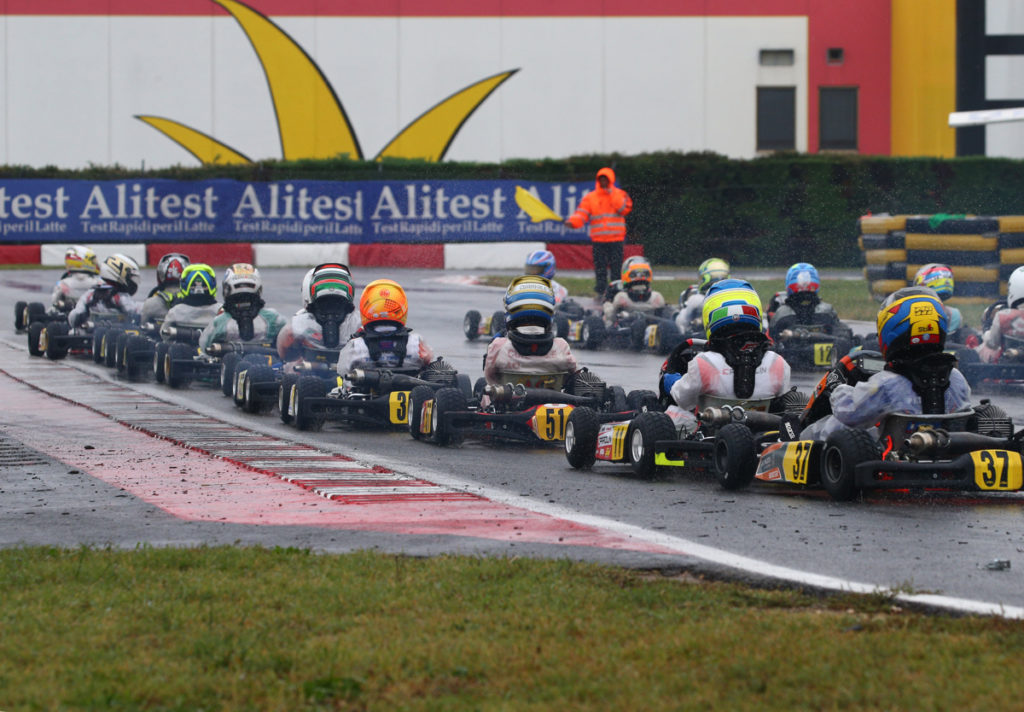 WET QUALIFYING IN LONATO AT THE 47TH TROFEO DELLE INDUSTRIE